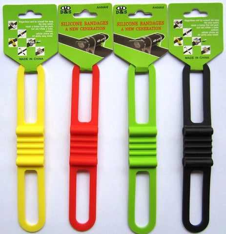 10 Bicycle Elastic Flashlight Straps