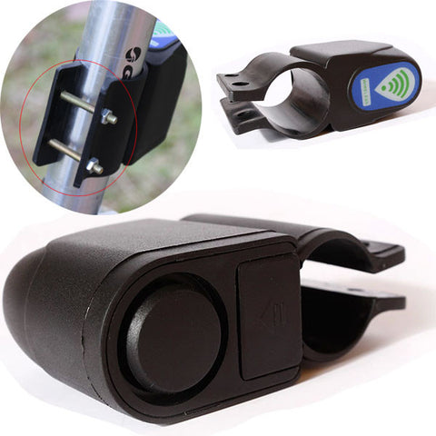 Anti-Theft Bicycle Alarm with Remote