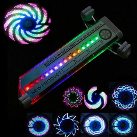 16 LED Bicycle Spoke Light