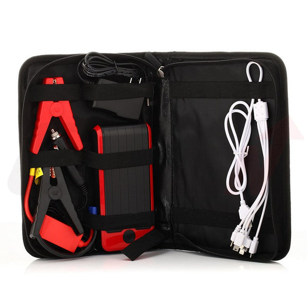 Emergency Portable Car Jump Starter Power Bank 12000mAh