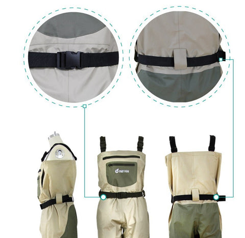 Chest Waders with Neoprene Sock