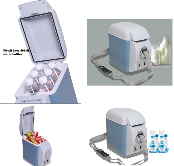 12V Mini Car Refrigerator 7.5L