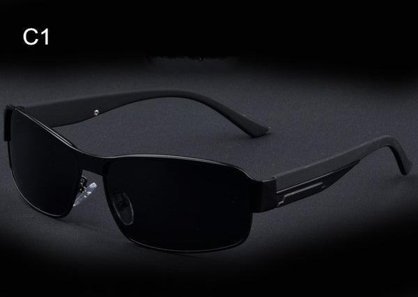 Polarized Driving Sunglasses with Alloy Frame