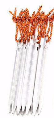 "6  Aluminium Alloy 7"" inch Tent Stakes"