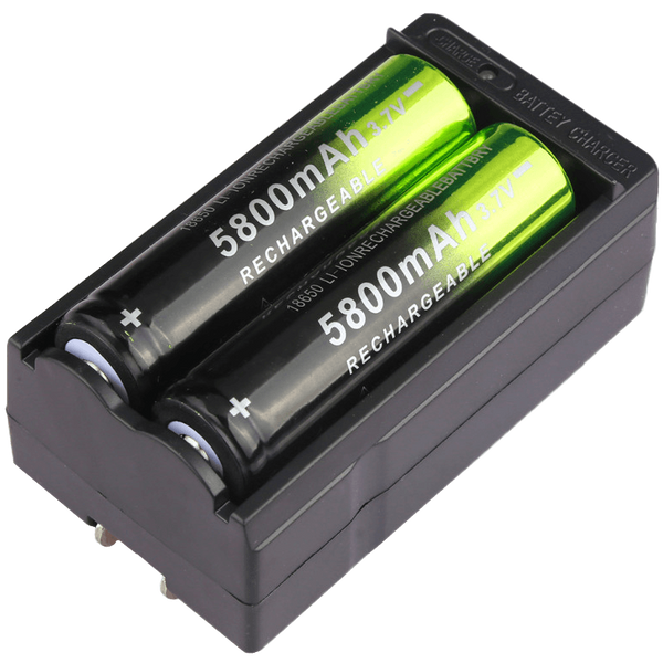 Rechargeable Battery Pack + Two FREE Batteries