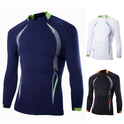 Tight Fit Long Sleeved Cycling Shirt