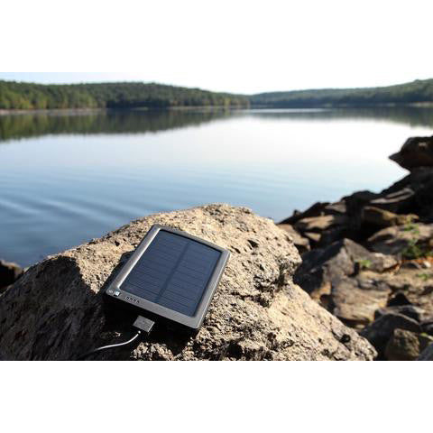Ultra Thin Solar Powered Mobile Device Charger