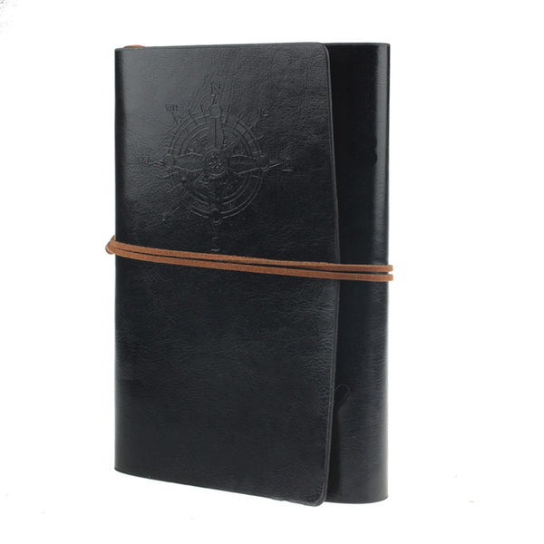 Leather Travel Log Book