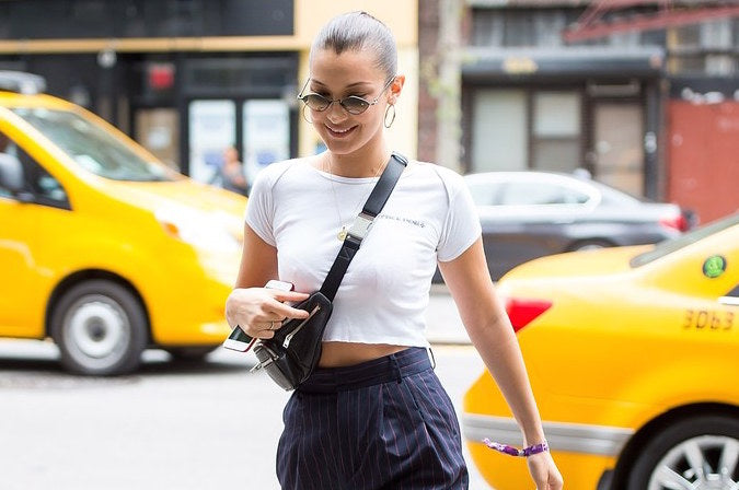 How to Wear a Fanny Pack like Bella Hadid
