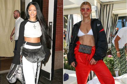 Celebrities Bringing Back Fanny Packs