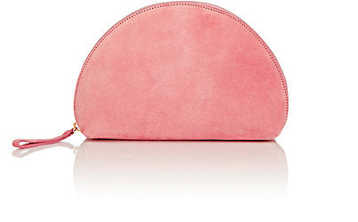 mansur gavriel moon clutch blush