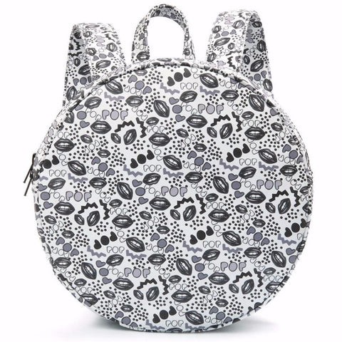 round circle backpack