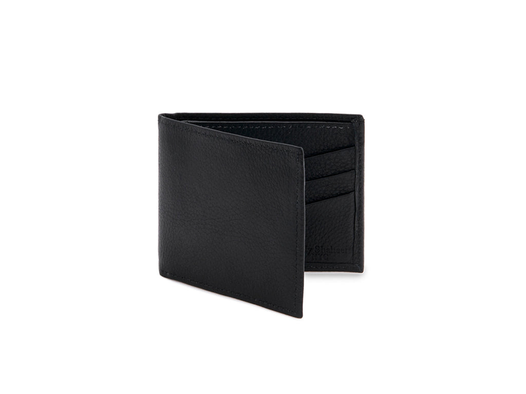 mens leather bifold wallet