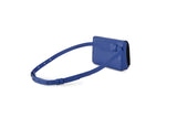 blue fanny pack