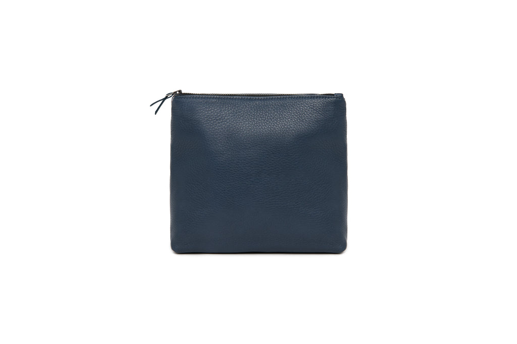 Dark Navy Tall Travel Pouch