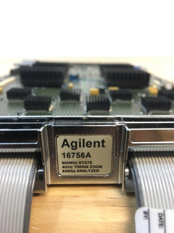 Agilent 16756a 600 MHz State 4 Ghz Timing zoom 64MSa Analyzer