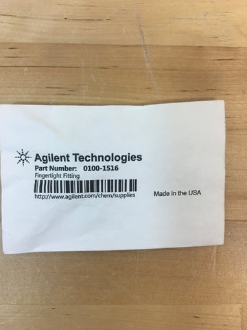 Agilent 1/16 in x 10-32 Nut, natural PEEK 2 pieces (0100-1516)
