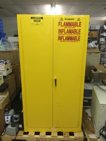Justrite Flammable Storage Safety Cabinet (60 Gallon)