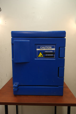 Eagle Corrosive Safety Cabinet, 22 In. H, 4 gal.