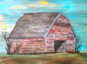 Barn Paint Kit (8x10 or 11x14)