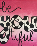 Be You-Tiful Paint Kit (8x10 or 11x14)