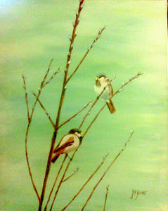 Birds on Twigs Paint Kit (8x10 or 11x14)
