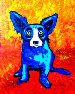 Blue Dog Paint Kit (8x10 or 11x14)