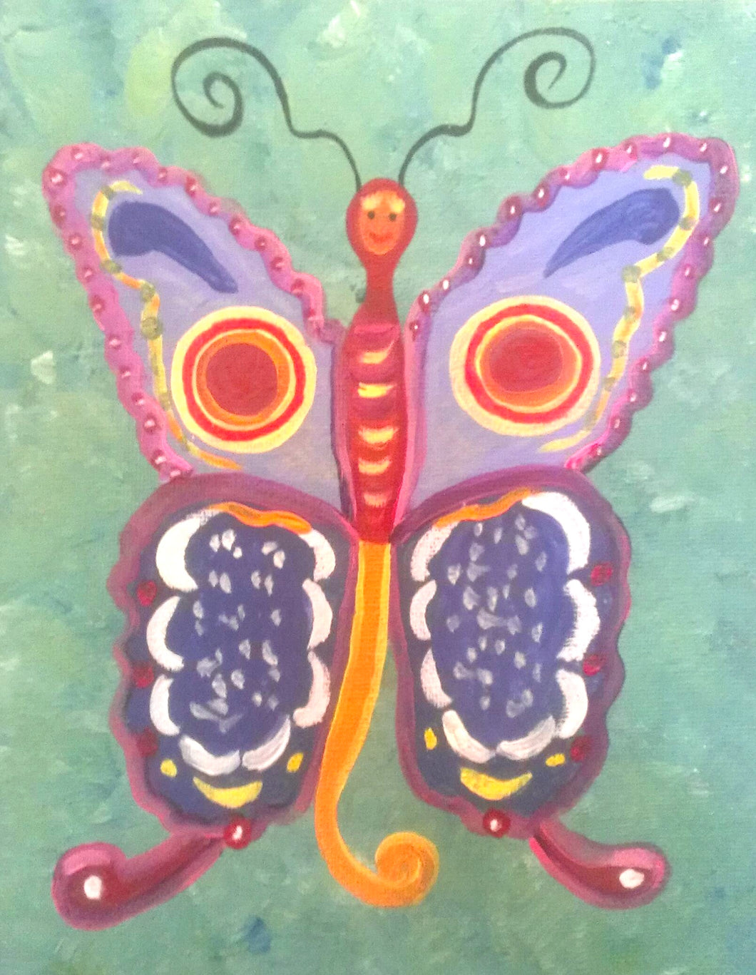 Butterfly Paint Kit (8x10 or 11x14)