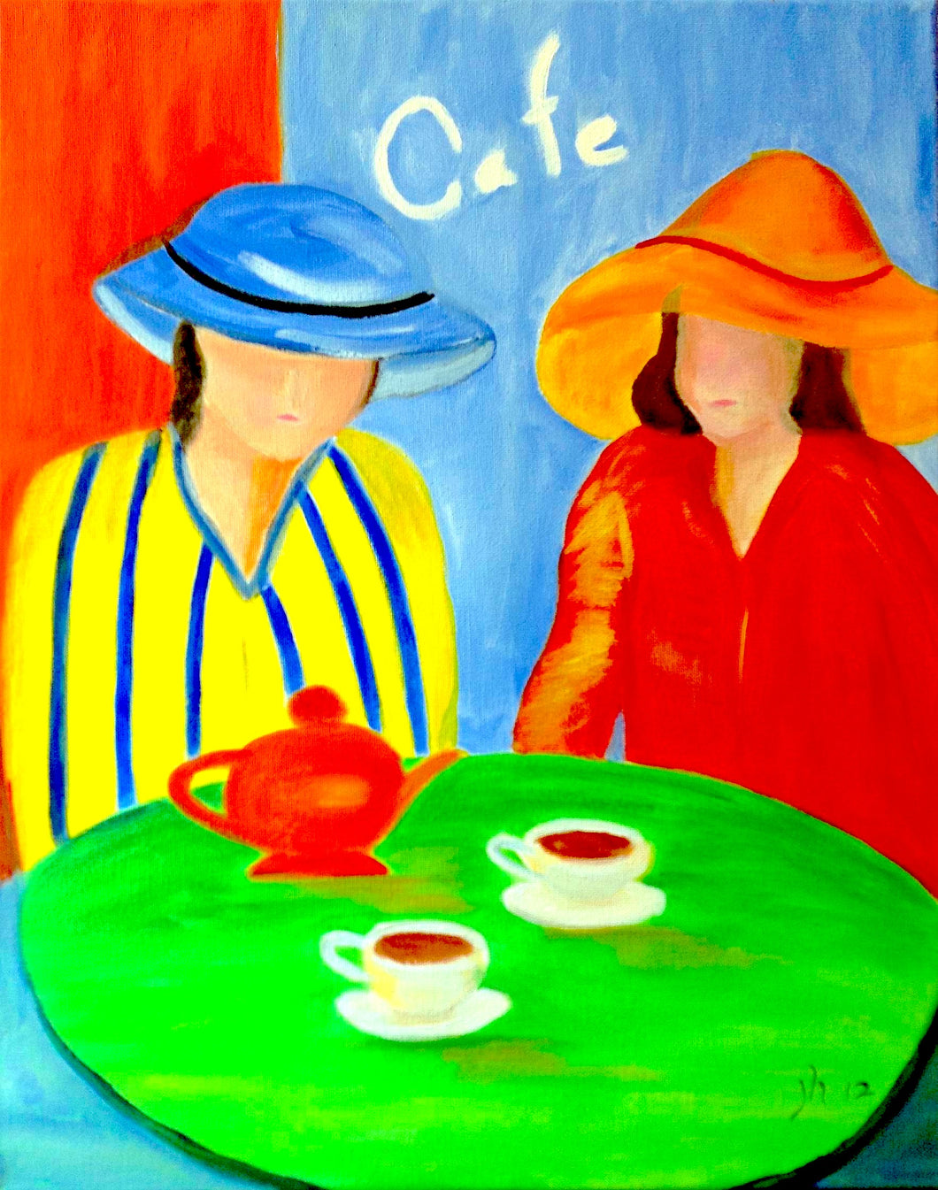 Cafe Time Paint Kit (8x10 or 11x14)