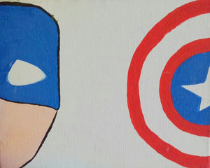 Captain America Paint Kit (8x10 or 11x14)