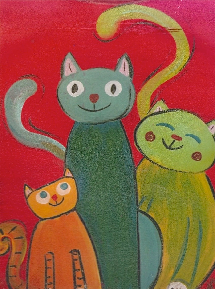 Cats Three Paint Kit (8x10 or 11x14)