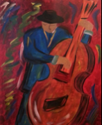 Cello Man Paint Kit (8x10 or 11x14)