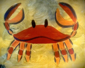 Crab Paint Kit (8x10 or 11x14)