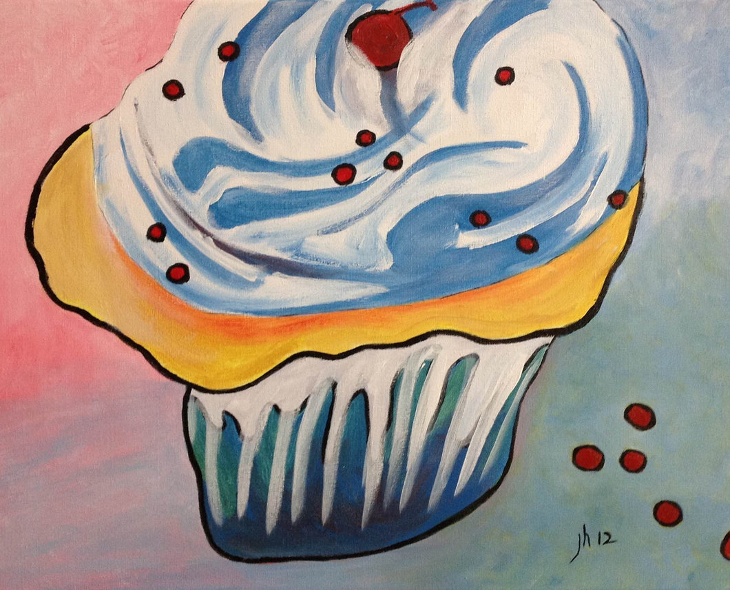 Cupcake Big Paint Kit (8x10 or 11x14)
