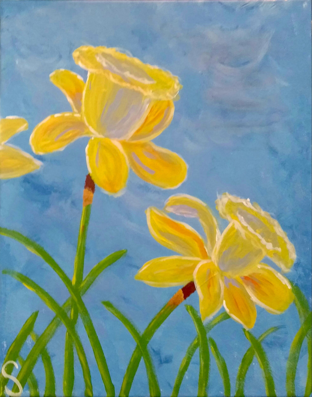 Daffodils Paint Kit (8x10 or 11x14)