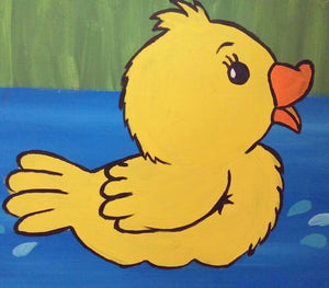 Duckie Paint Kit (8x10 or 11x14)