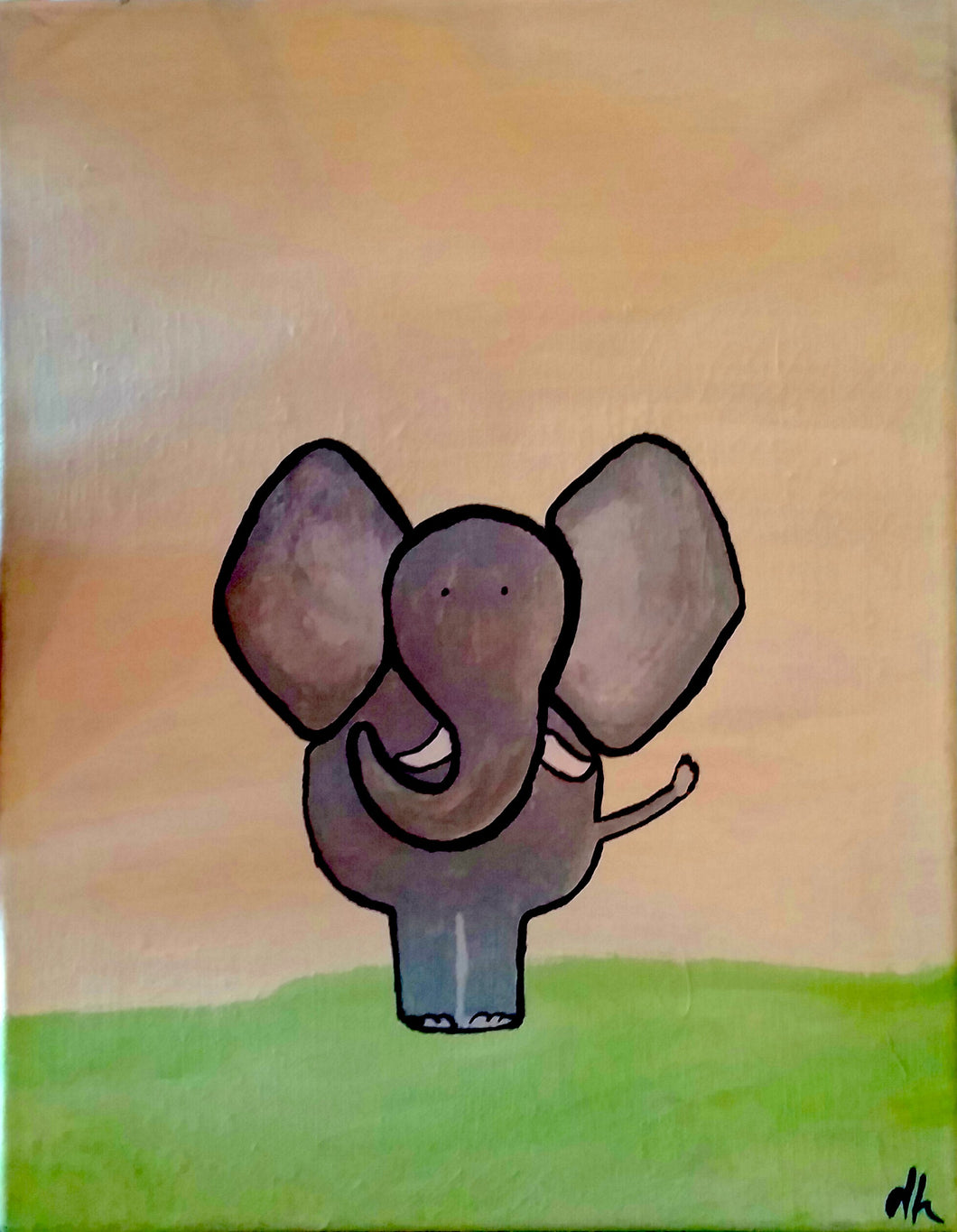 Elephant Paint Kit (8x10 or 11x14)