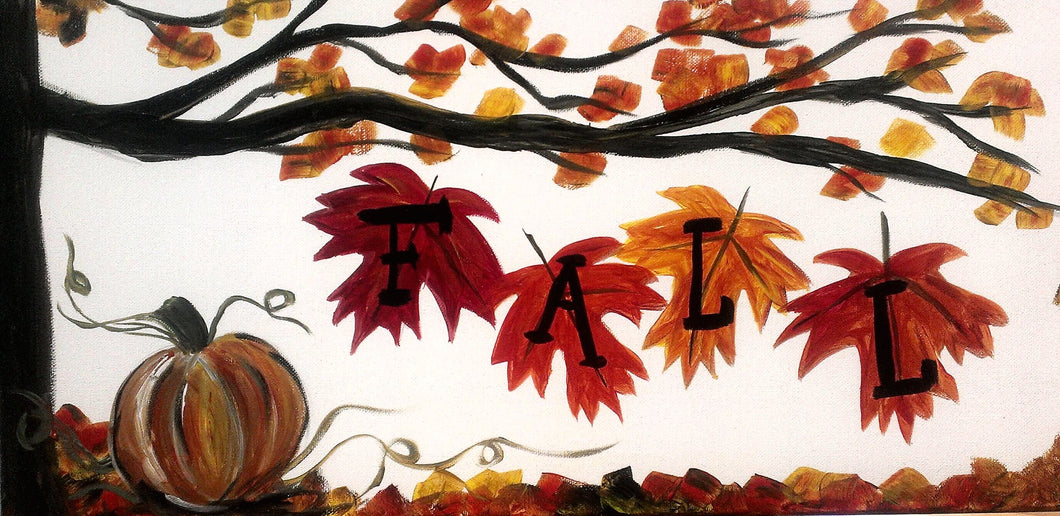 Fall Paint Kit (8x10 or 11x14)