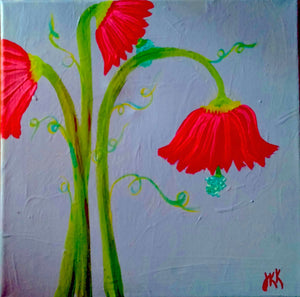 Flowers Three Paint Kit (8x10 or 11x14)