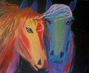 Horse Love Paint Kit (8x10 or 11x14)