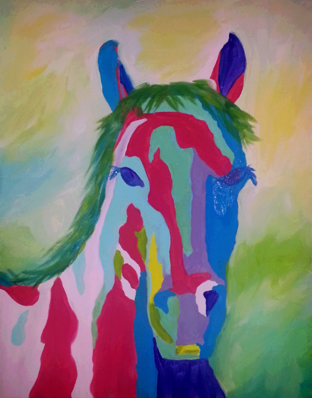 Horse Pop Paint Kit (8x10 or 11x14)