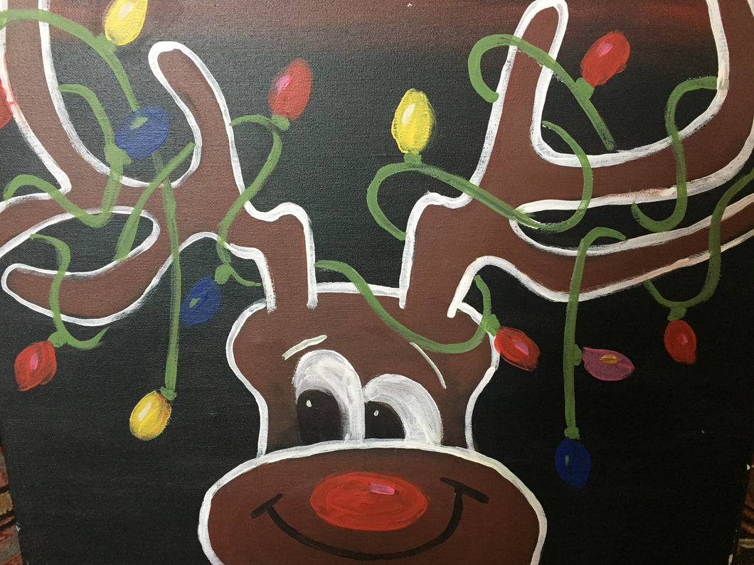 Light Up Rudolph