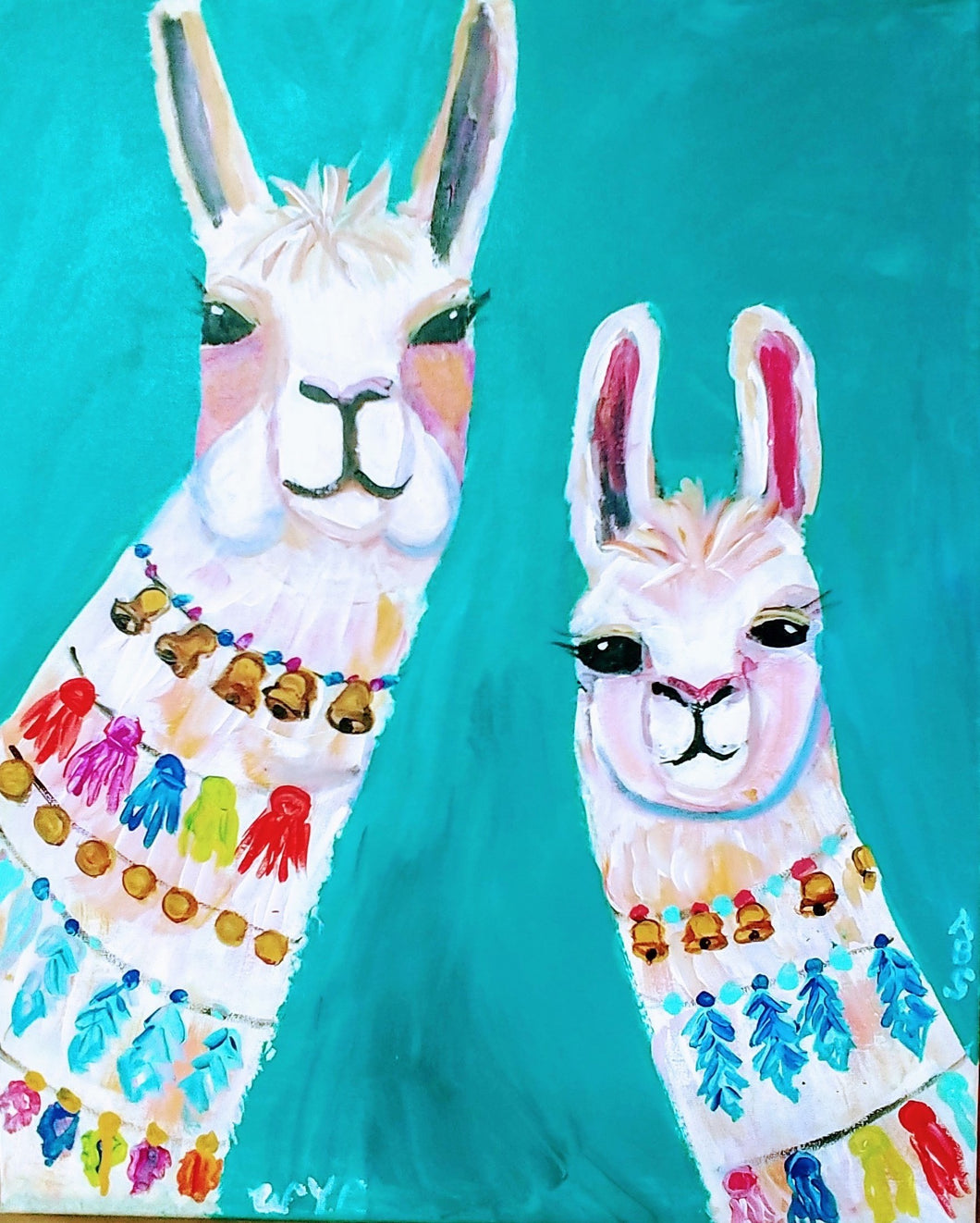 Llamas Paint Kit (8x10 or 11x14)