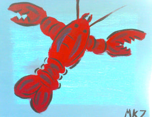 Lobster Paint Kit (8x10 or 11x14)