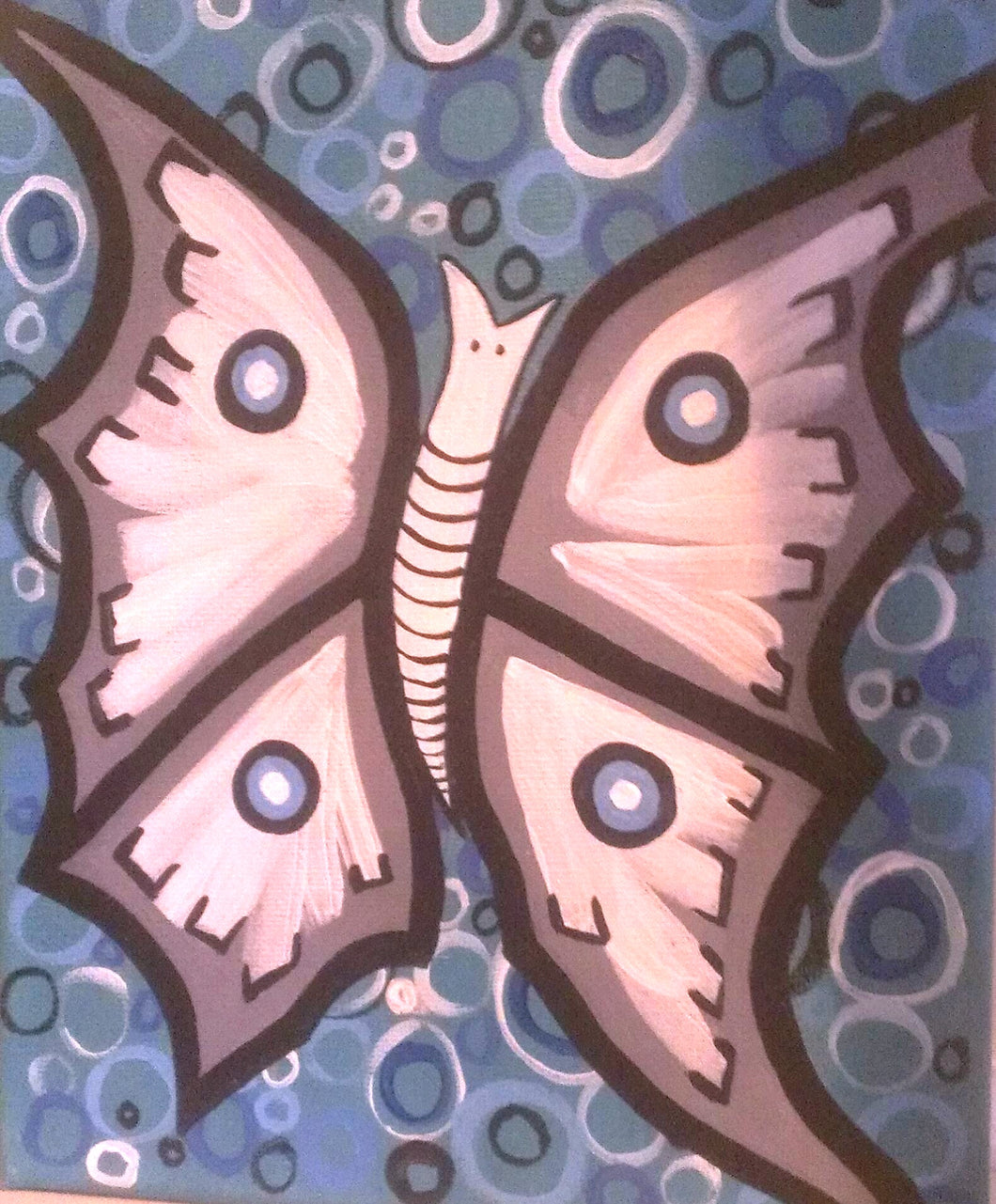 Moth Paint Kit (8x10 or 11x14)