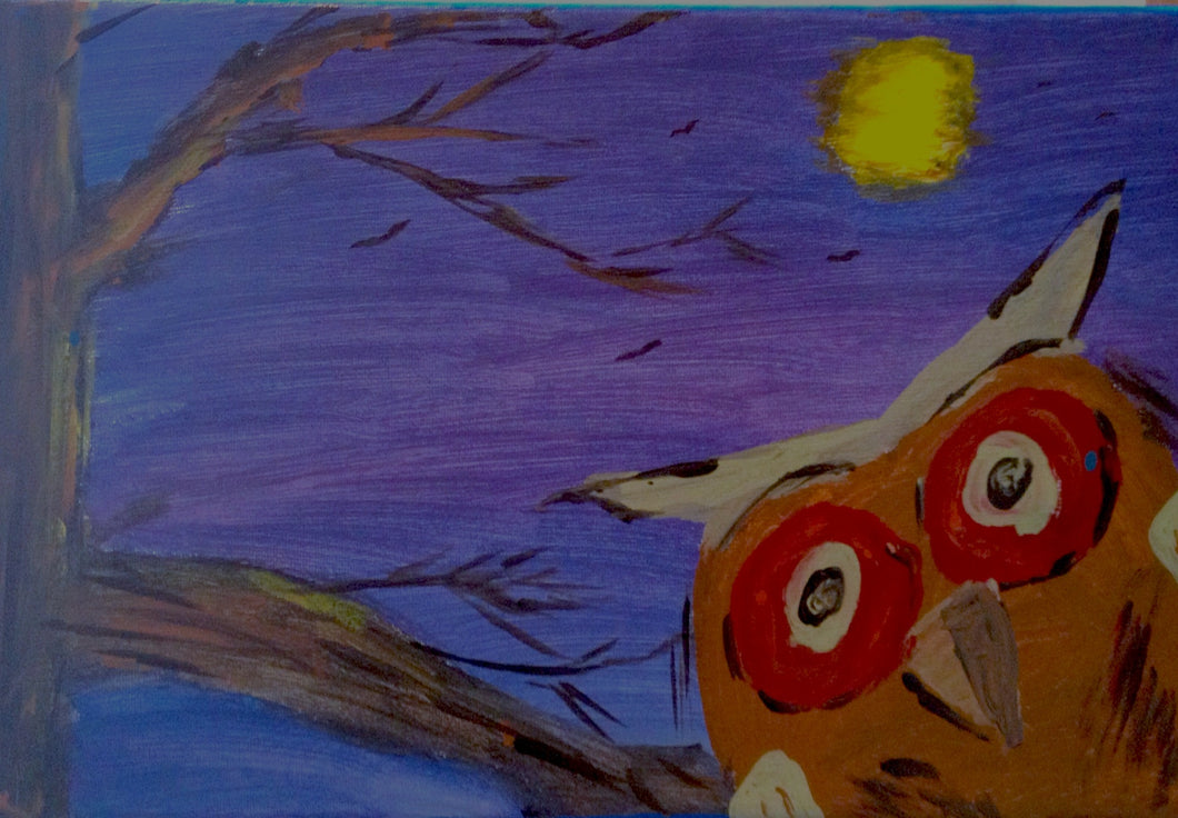 Night Owl Paint Kit (8x10 or 11x14)