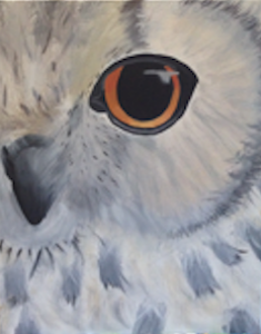 Snow Owl Paint Kit (8x10 or 11x14)