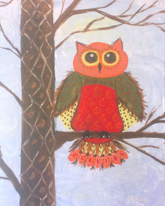 Owl In Tree Paint Kit (8x10 or 11x14)