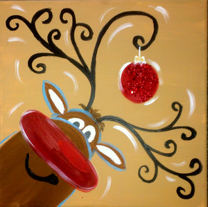 Rudolph Paint Kit (8x10 or 11x14)