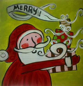 Santa Merry Paint Kit (8x10 or 11x14)